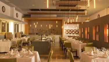 Rissoto restaurant Reflect Krystal Grand Cancún Hotel Cancún
