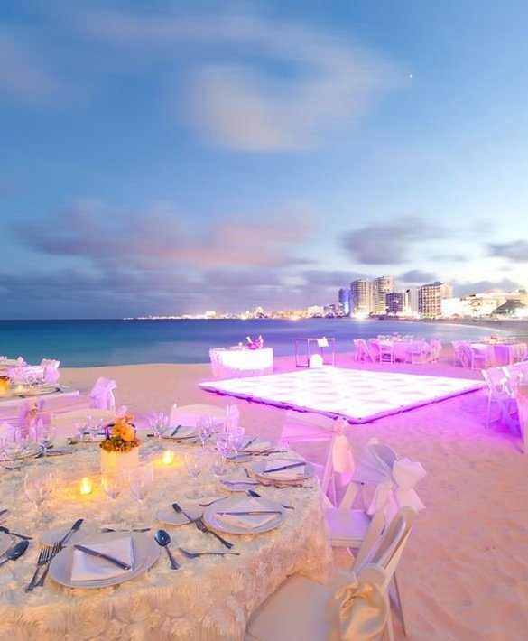 The most exclusive events Reflect Cancún Resort & Spa Hotel Cancún