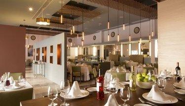 Rissoto restaurant Krystal Grand Punta Cancún Hotel Cancún
