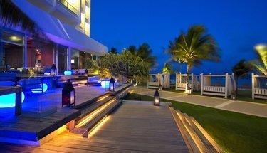 Lounge terrace Reflect Krystal Grand Cancún Hotel Cancún
