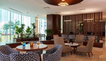 Reception Krystal Grand Punta Cancún Hotel Cancún